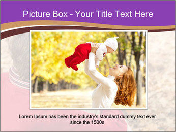 Man taking autumn outdoor PowerPoint Template - Slide 15