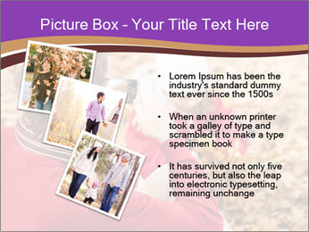 Man taking autumn outdoor PowerPoint Template - Slide 17