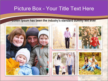 Man taking autumn outdoor PowerPoint Templates - Slide 19