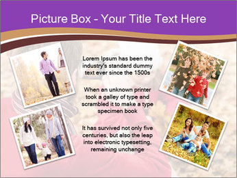 Man taking autumn outdoor PowerPoint Templates - Slide 24