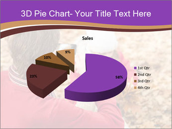 Man taking autumn outdoor PowerPoint Template - Slide 35