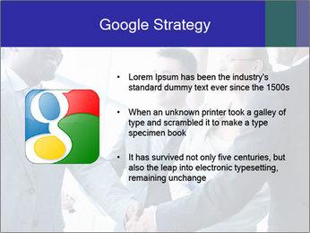 Businessmen handshaking PowerPoint Template - Slide 10