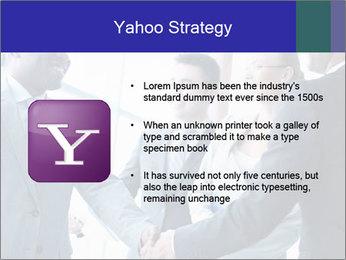 Businessmen handshaking PowerPoint Template - Slide 11