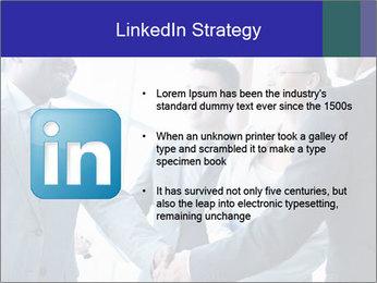 Businessmen handshaking PowerPoint Template - Slide 12