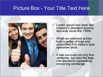 Businessmen handshaking PowerPoint Template - Slide 13