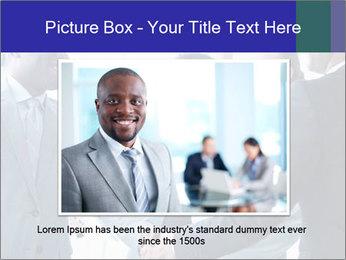 Businessmen handshaking PowerPoint Template - Slide 15