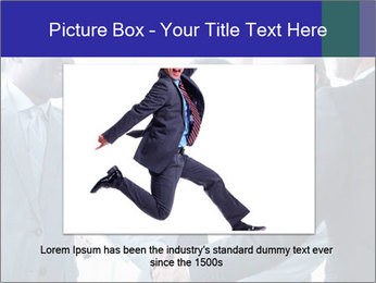Businessmen handshaking PowerPoint Template - Slide 16