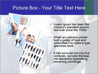 Businessmen handshaking PowerPoint Template - Slide 17