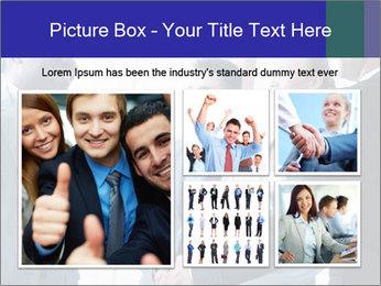 Businessmen handshaking PowerPoint Template - Slide 19