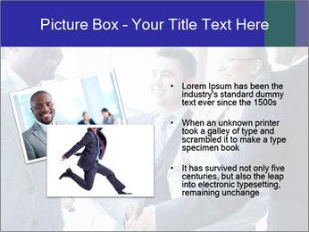 Businessmen handshaking PowerPoint Template - Slide 20