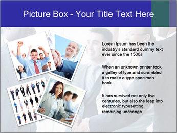 Businessmen handshaking PowerPoint Template - Slide 23