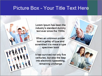Businessmen handshaking PowerPoint Template - Slide 24