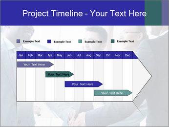 Businessmen handshaking PowerPoint Template - Slide 25