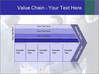 Businessmen handshaking PowerPoint Template - Slide 27