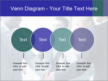 Businessmen handshaking PowerPoint Template - Slide 32