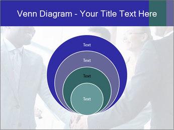 Businessmen handshaking PowerPoint Template - Slide 34