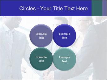 Businessmen handshaking PowerPoint Template - Slide 38