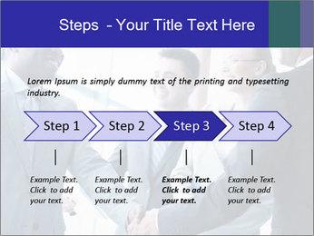 Businessmen handshaking PowerPoint Template - Slide 4