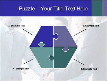 Businessmen handshaking PowerPoint Template - Slide 40