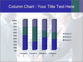 Businessmen handshaking PowerPoint Template - Slide 50
