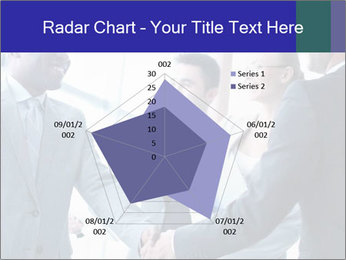 Businessmen handshaking PowerPoint Template - Slide 51