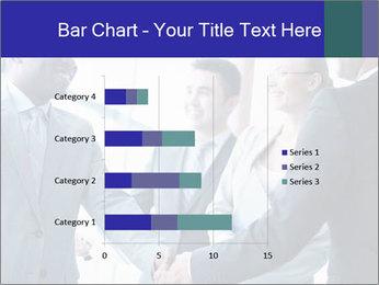Businessmen handshaking PowerPoint Template - Slide 52