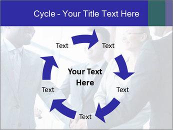 Businessmen handshaking PowerPoint Template - Slide 62