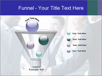 Businessmen handshaking PowerPoint Template - Slide 63