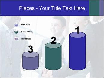 Businessmen handshaking PowerPoint Template - Slide 65