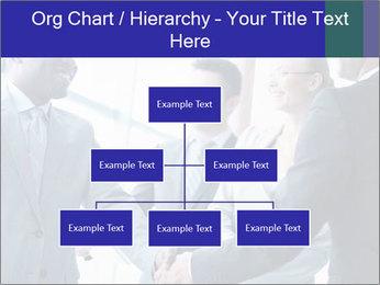 Businessmen handshaking PowerPoint Template - Slide 66