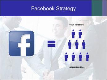 Businessmen handshaking PowerPoint Template - Slide 7