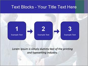 Businessmen handshaking PowerPoint Template - Slide 71