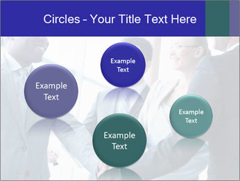 Businessmen handshaking PowerPoint Template - Slide 77