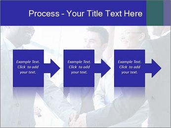 Businessmen handshaking PowerPoint Template - Slide 88
