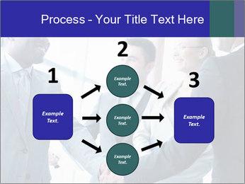 Businessmen handshaking PowerPoint Template - Slide 92