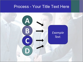 Businessmen handshaking PowerPoint Template - Slide 94