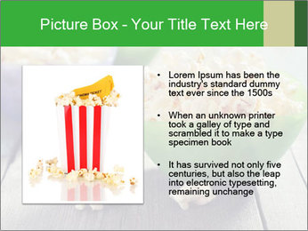 Popcorn in plastic bowls PowerPoint Templates - Slide 13