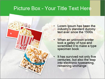 Popcorn in plastic bowls PowerPoint Templates - Slide 17