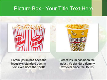 Popcorn in plastic bowls PowerPoint Template - Slide 18