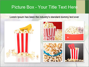 Popcorn in plastic bowls PowerPoint Templates - Slide 19