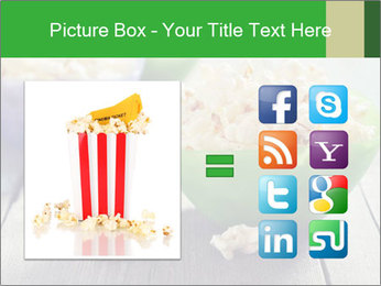 Popcorn in plastic bowls PowerPoint Template - Slide 21