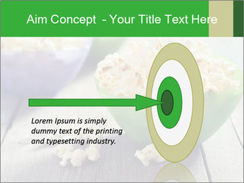 Popcorn in plastic bowls PowerPoint Templates - Slide 83