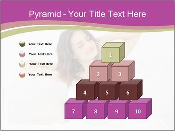 Young woman waking up PowerPoint Template - Slide 31