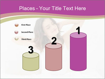 Young woman waking up PowerPoint Template - Slide 65