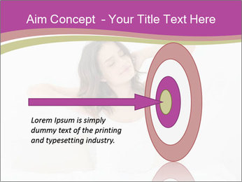 Young woman waking up PowerPoint Template - Slide 83