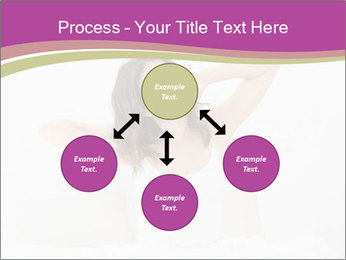 Young woman waking up PowerPoint Template - Slide 91