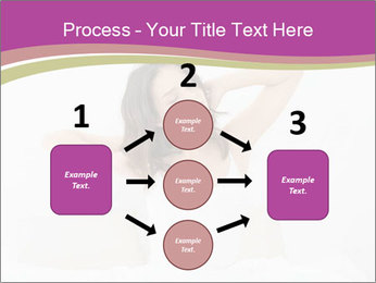 Young woman waking up PowerPoint Template - Slide 92