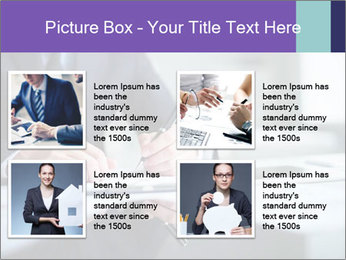 Businessman Making Notes PowerPoint Template - Slide 14