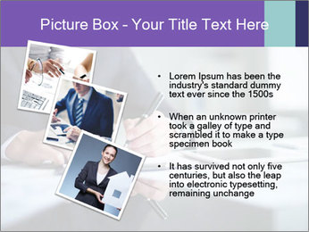 Businessman Making Notes PowerPoint Template - Slide 17