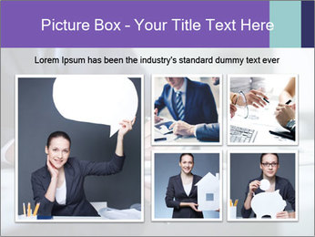 Businessman Making Notes PowerPoint Template - Slide 19